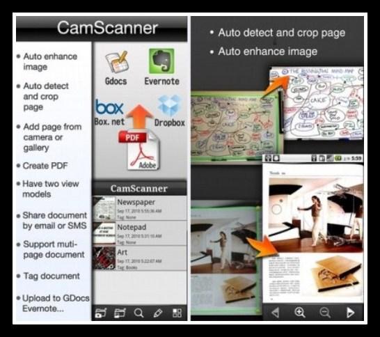 Camscanner app