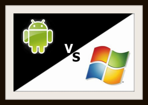 Windows 8 vs Android 4.0