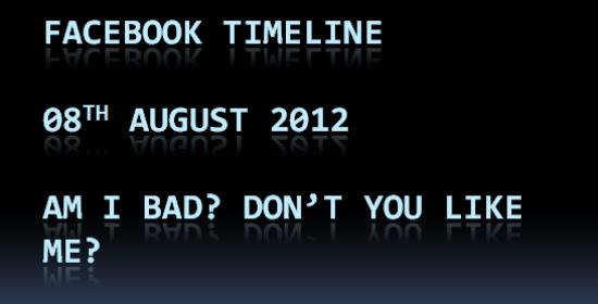 FaceBook Timeline Compulsory