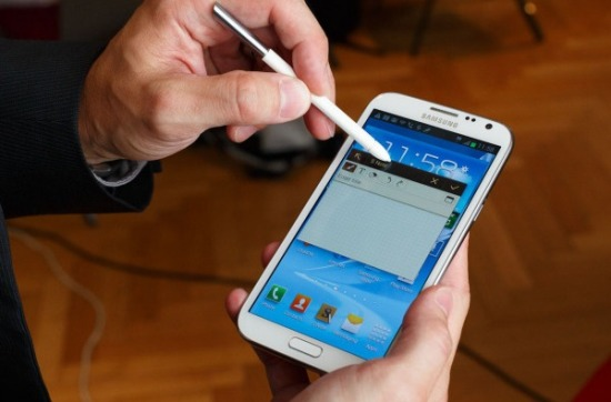 Samsung Galaxy Note 2 lauched