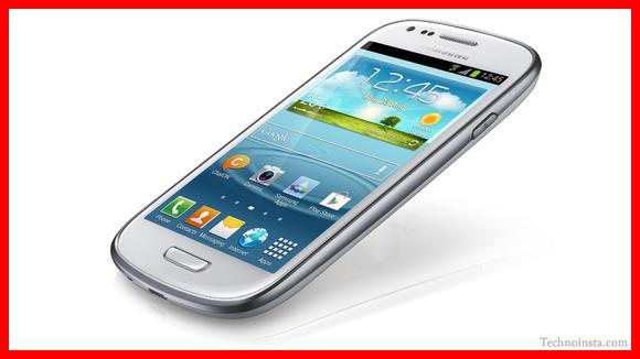 Samsung Galaxy S3 Mini Press