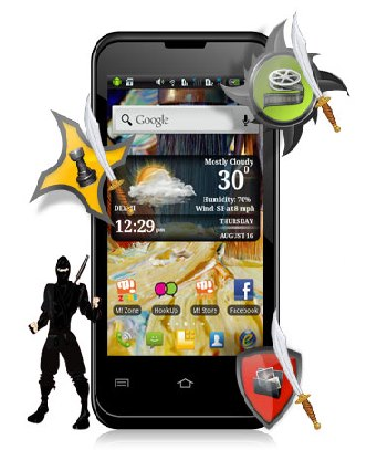 Micromax A 87 images
