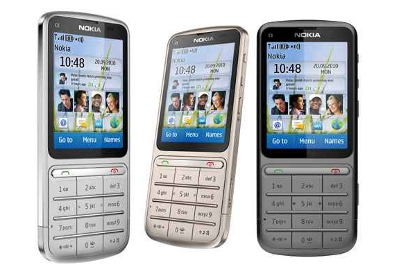 Nokia C3-01Touch and Type