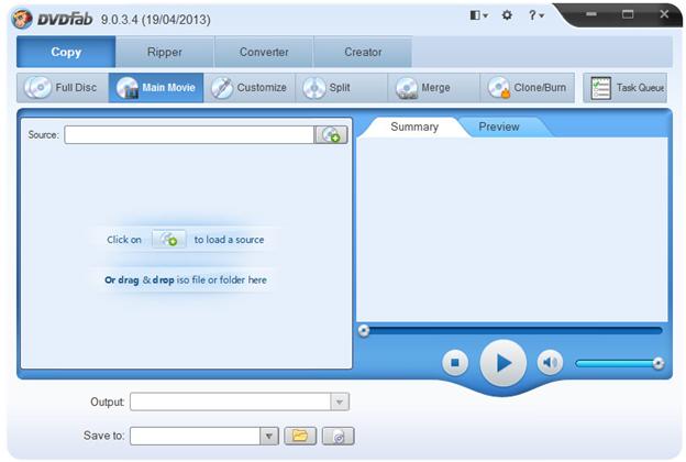 DVDFab DVD Copy Software