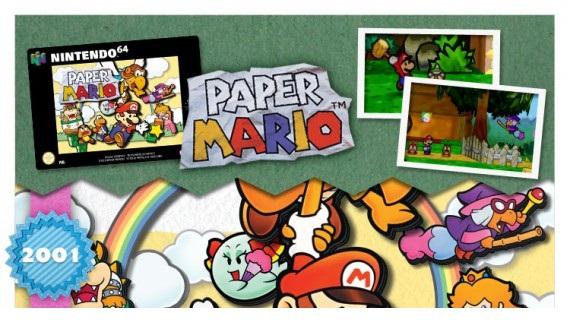 Paper Mario Infographic