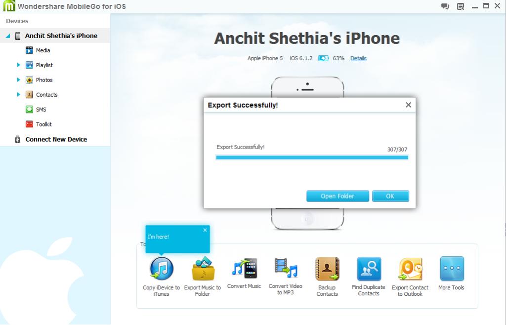 Wondershare iOS app