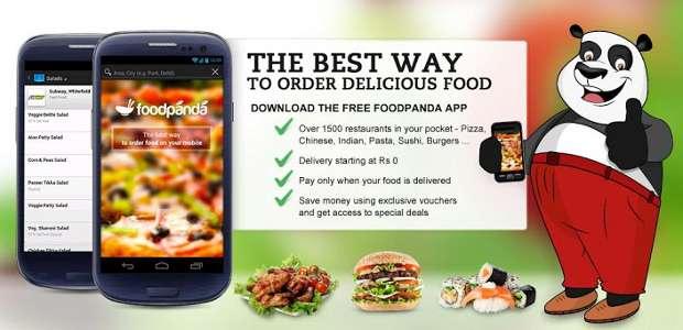 FoodPanda app
