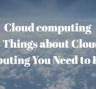 cloud computing facts