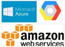 3 best Cloud Providers in 2017