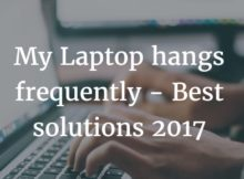 laptop hangs